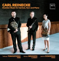 P�yta Carl Reinecke Chamber Music for Clarinet, Horn and Piano
